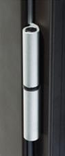 Paumelles pour fenêtre en aluminium couleur ALU