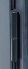 Paumelles tenintées pour fenêtre en aluminium