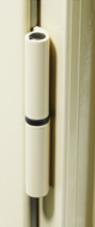 Paumelles pour fenêtre en aluminium couleur beige