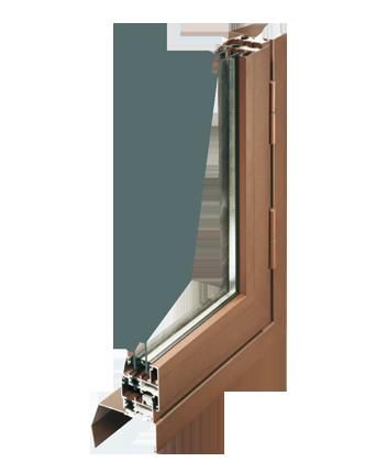 Fenêtre en aluminium double ou triple-vitrage isolation phonique