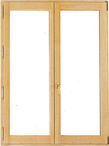 Fenêtre en bois 2 vantaux oscillo-battants en pin