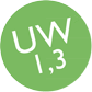 Fenêtre PVC Uw = 1,3