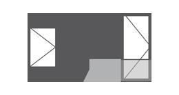Vitrage 1 vantail fenêtre PVC