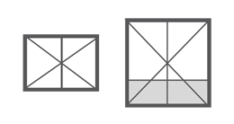 Vitrage 2 vantaux fenêtres PVC