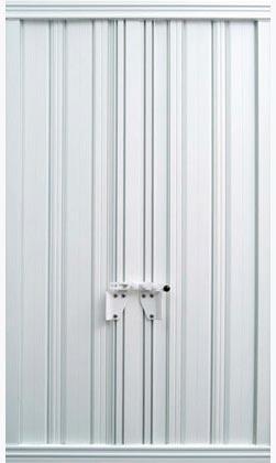 Jalousie en aluminium couleur blanche