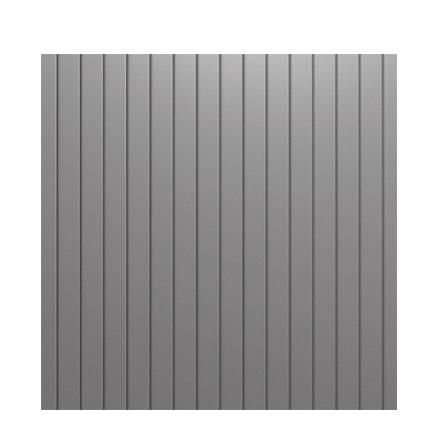 Portail aluminium lame verticale