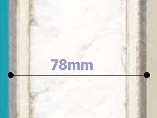 Porte en aluminium + polystyrène extrudé 21mm + contreplaqués CTBX de 4mm