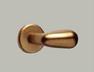 Poignée forme oeuf Aluminium ton bronze