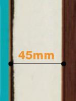 Porte Composite épaisseur 45mm