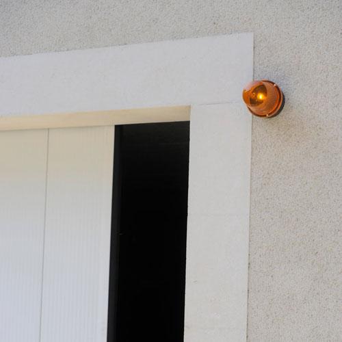 Feu clignotant pour porte de garage