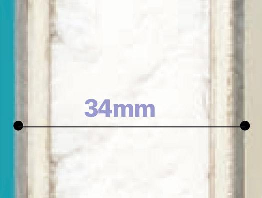 Porte en PVC + polystyrène extrudé 21mm + contreplaqués CTBX de 4mm