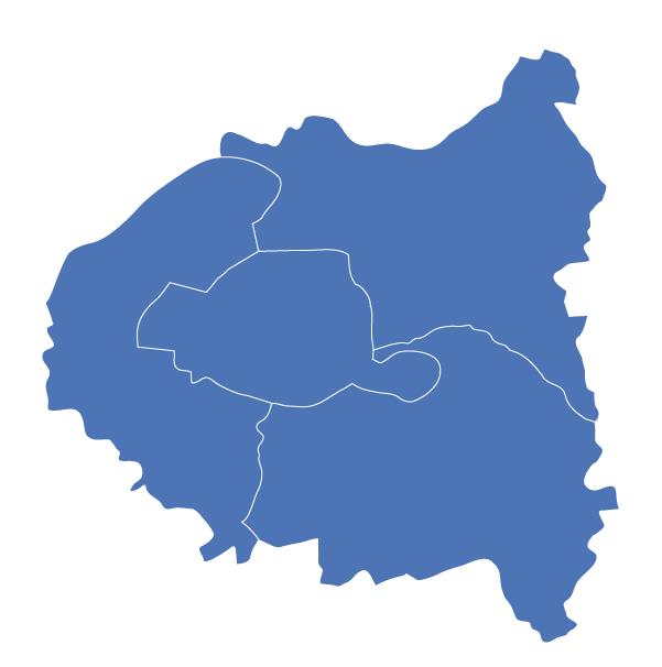 Carte des magasins Mondial Fenêtres Paris et banlieue parisienne